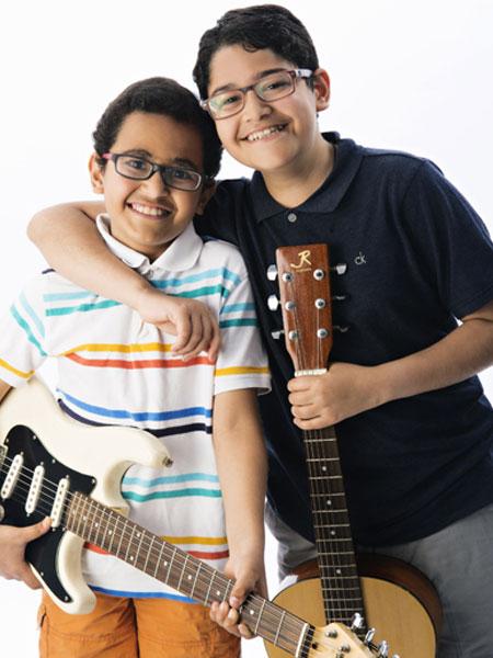 Family Music lessons oakville