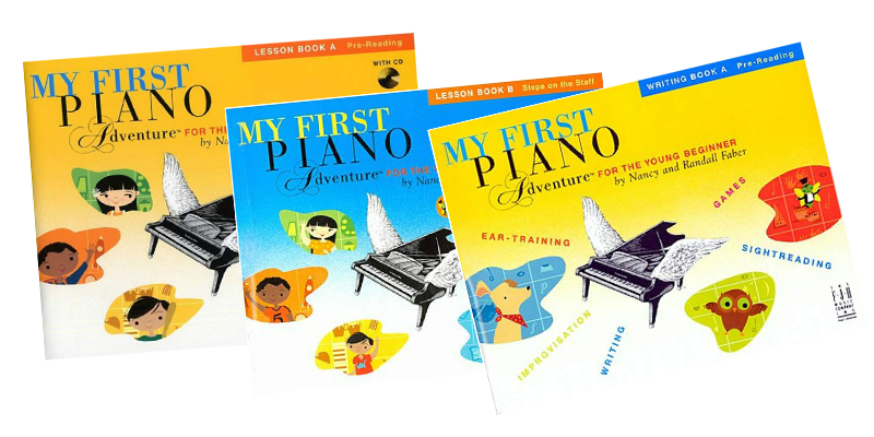 Piano lesson books and instruction oakville