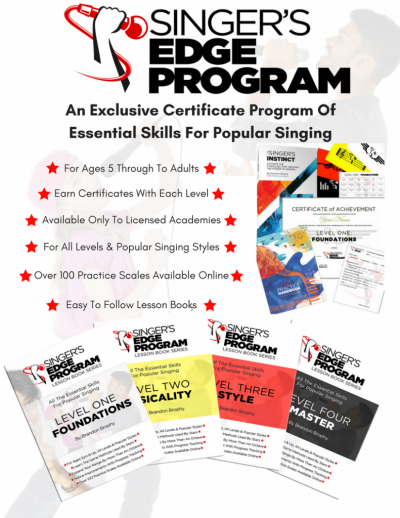 Singers Edge certificate program oakville